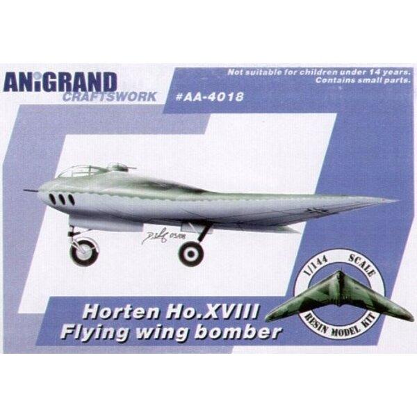 Horten Ho XVIII. Auch schließt BONUS-Bausätze des Junkers EF.130 Blohm und Voss Bv P.217 Lippisch Li P.04-106 und Messerschmitt