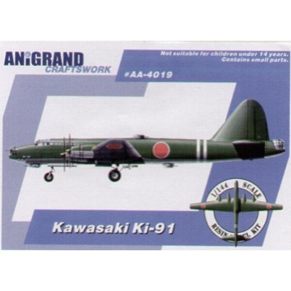 Kawasaki Ki-91. Auch schließt BONUS-Bausätze des Kayaba Kkatsuodori Nakajimas Ki-201 und Kawasaki Ki-108 ein. Anfang 1943 weil v