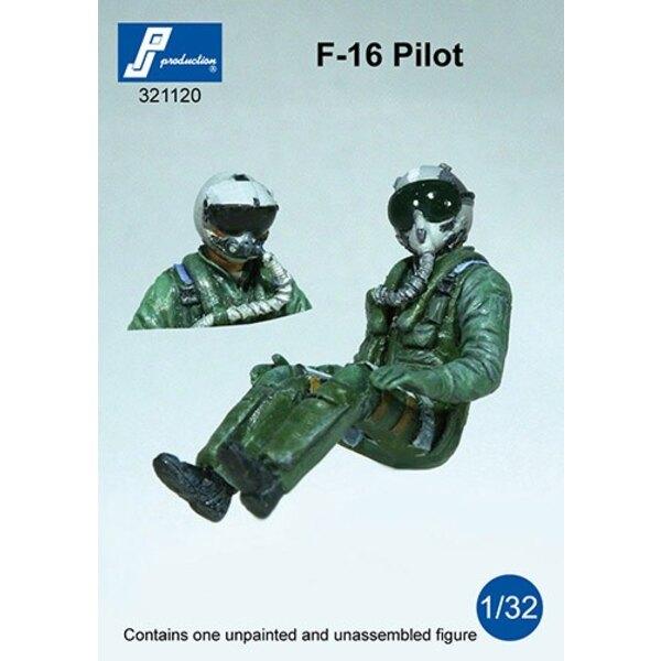 F-16 Pilot in a / c sitzt.Set 1 Figur mit dem HGU oder JMHCS Helm - Könnte auch in einem F-18 verwendet werden,