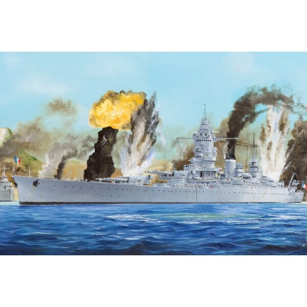 Französisch Navy Battleship Dunkerque