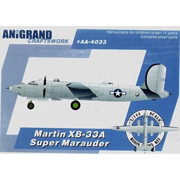 Martin XB-33A Super-Marauder. Auch schließt BONUS-Bausätze des Lockheed PV-1 Ventura Douglas A-20B Havoc und Curtiss XP-71 ein.