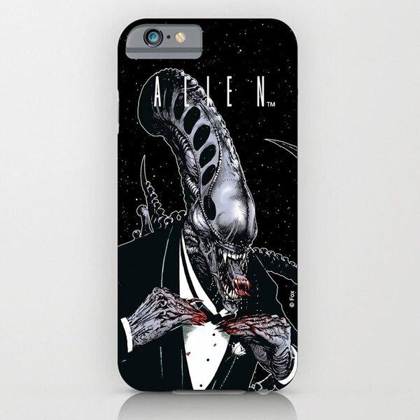 Alien iPhone 6 Schutzhülle Tuxedo
