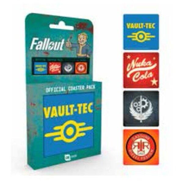 Fallout Untersetzer 4er Pack Mix