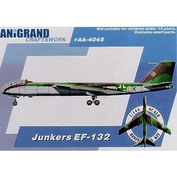 Rumpfende von Junkers EF-132 Endstrahlbomber nahm von Russisch fest. Beinhaltet BONUS-Bausätze des Lippisch Li. P12 Entwurf III