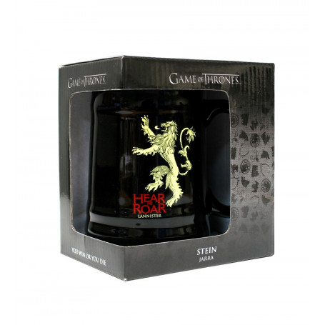 Game of Thrones Bierkrug Black Lannister SD Toys SDTHBO02898