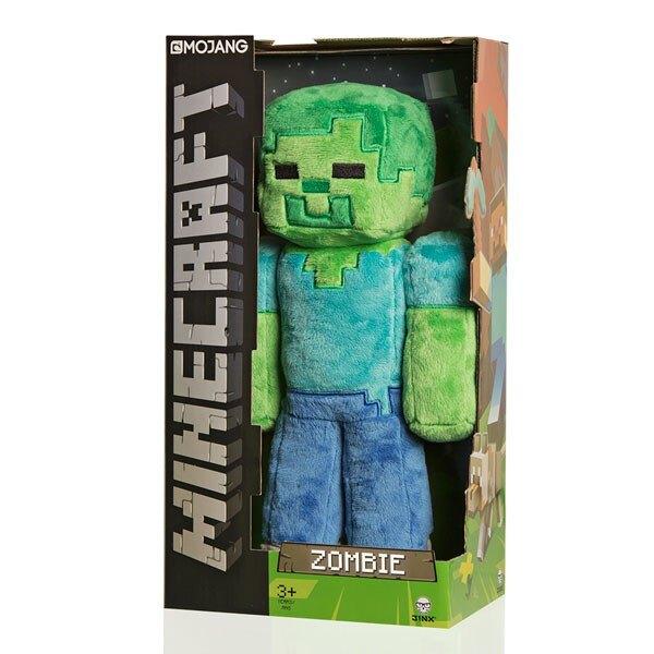 Minecraft Plüschfigur Zombie 30 cm