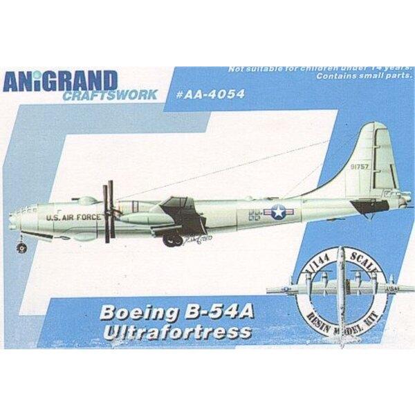 Boeing B-54A Ultrafortress. Beinhaltet BONUS-Bausätze des Northrop YF-17 Cobra Douglas XF6D Missileer & McDonnell XHJD Whirlaway