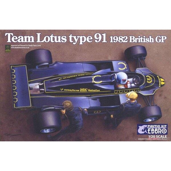 Team Lotus TYPE 91 (1982)