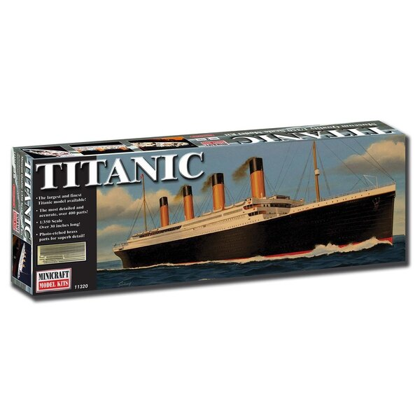 RMS Titanic deluxe edition with etched part
