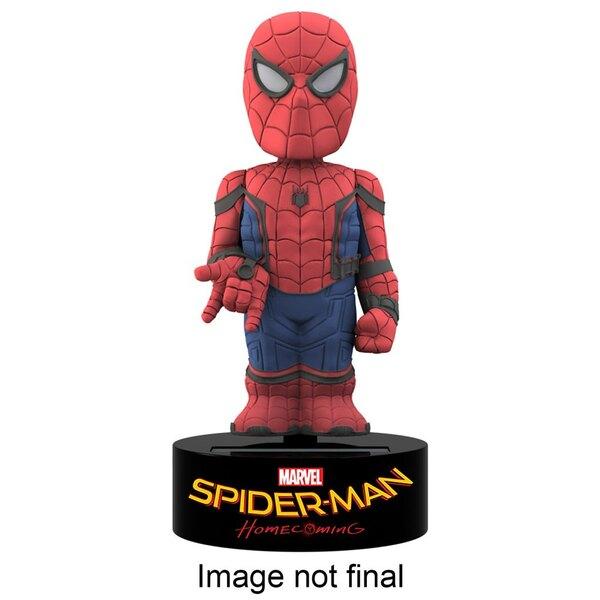 Spider-Man Homecoming Body Knocker Wackelfigur Spider-Man 15 cm