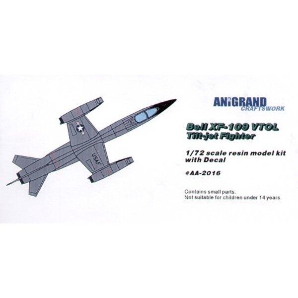 XF-109 sich Neigende Jets VTOL Überschalljäger. 1953 entwickelte Flugzeugshandelsgesellschaft von Bell ein VTOL Forschungsflugze