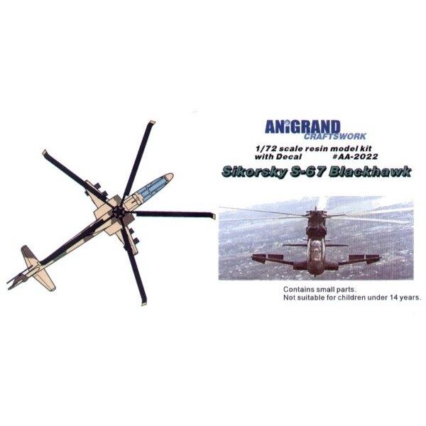 Sikorsky S-67 1964 amerikanische Armee lud die AAFSS Spezifizierung dass zum Mittagessen ein, nach einem Flugzeug mit einem Hoch