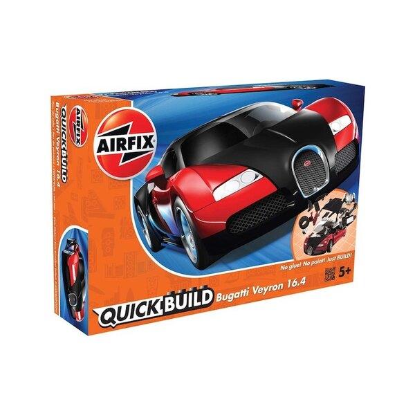 Bugatti Veyron New Color Schnellbaucontainer (Kein Kleber oder Lack erforderlich) Airfix Schnellbaucontainer ist eine spannende