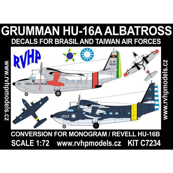 Grumman HU-16A Albatros (Brasil, Taiwan) (entworfen, um mit Monogramm und Revell HU-16B Kits verwendet werden)