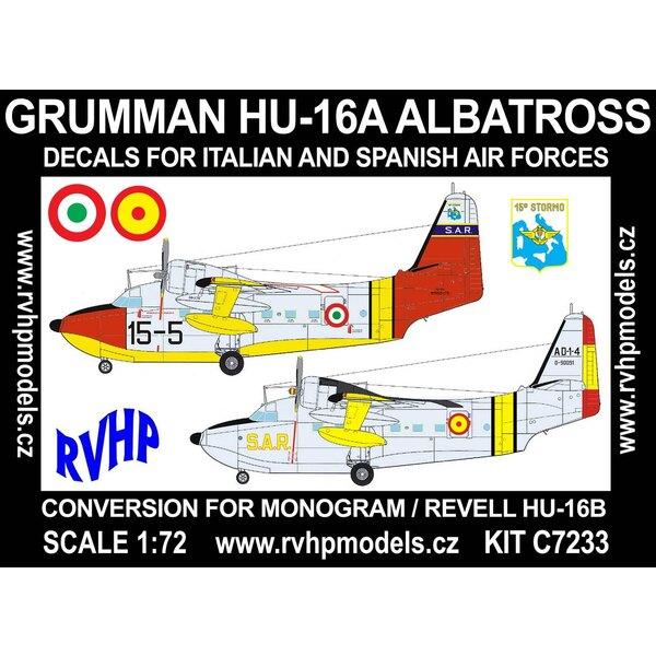 Grumman HU-16A Albatros (Italien, Spanien) (entworfen, um mit Monogramm und Revell Kits verwendet werden)