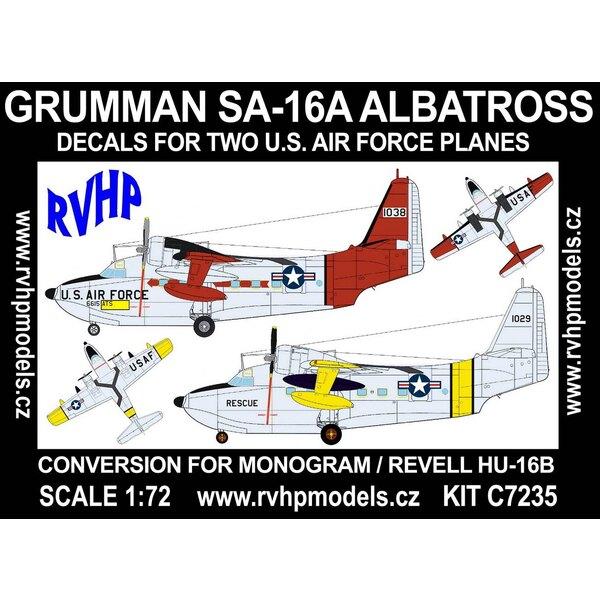 Grumman SA-16A Albatros (USAF) (entworfen, um mit Monogramm und Revell HU-16B Kits verwendet zu werden)
