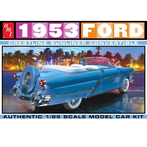 FORD Cabriolet 1953 1/25
