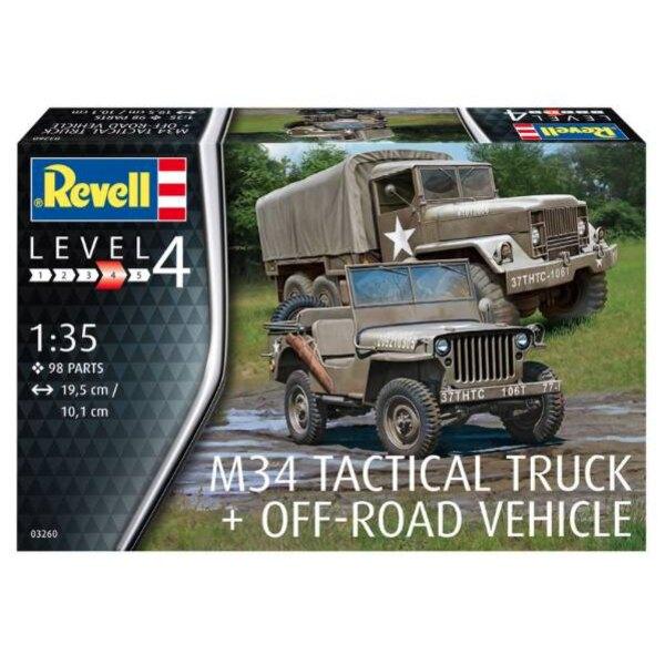 M34 Tactical Truck & Willys Jeep Geländewagen [