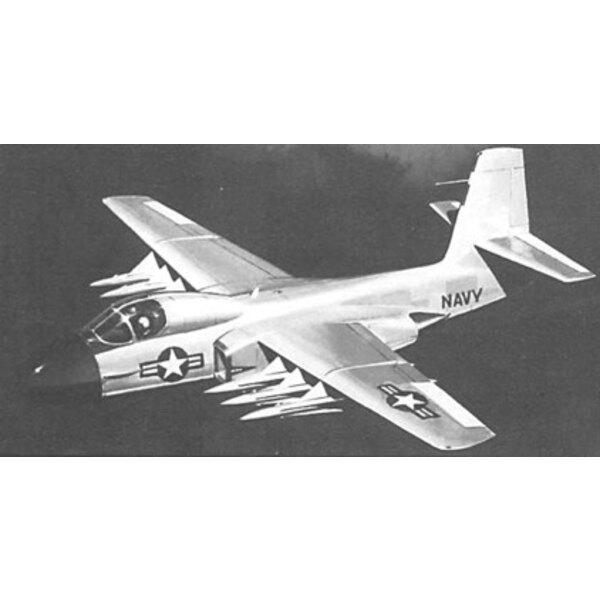 Douglas XF6D-1 Missileer. 1957 begann die amerikanische Marine, ein neues Konzept für die Bordflotteverteidigung zu planen. Ein