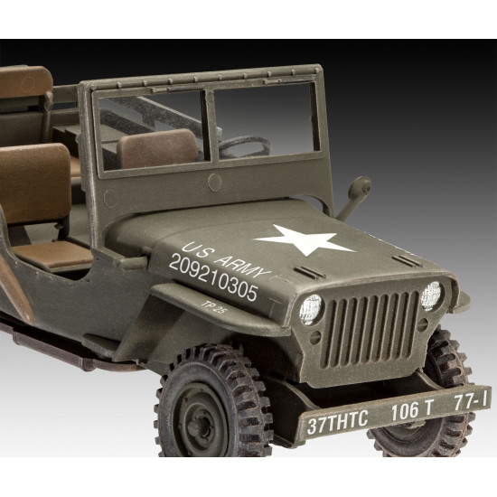 revell 3260 m34 tactical truck willys jeep gel nde. Black Bedroom Furniture Sets. Home Design Ideas