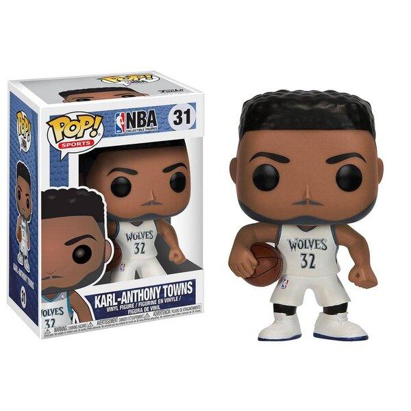 NBA POP! Sports Vinyl Figur Karl-Anthony Towns (Minnesota Timberwolves) 9 cm