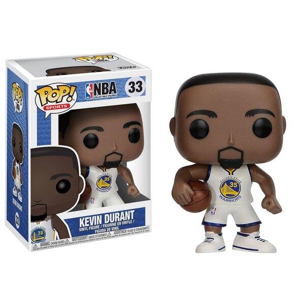 NBA POP! Sports Vinyl Figur Kevin Durant (Golden State Warriors) 9 cm