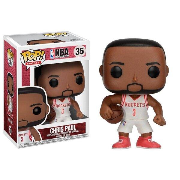 NBA POP! Sports Vinyl Figur Chris Paul (Houston Rockets) 9 cm