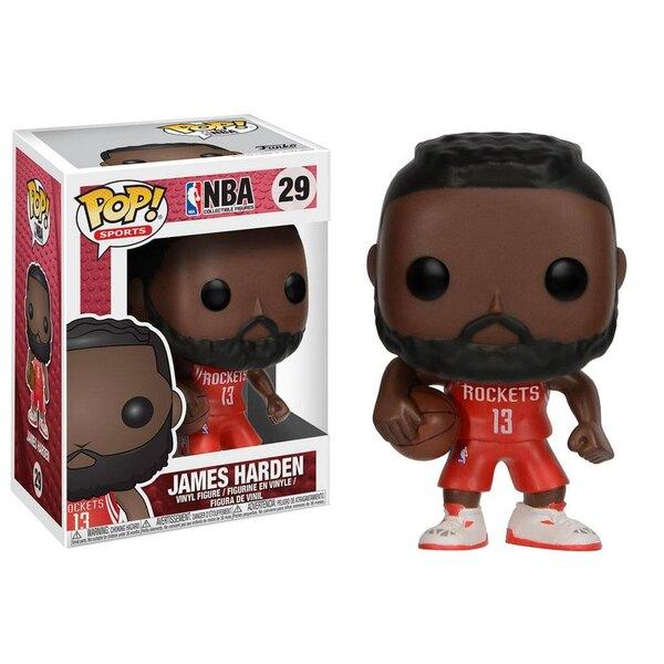 NBA POP! Sports Vinyl Figur James Harden (Houston Rockets) 9 cm