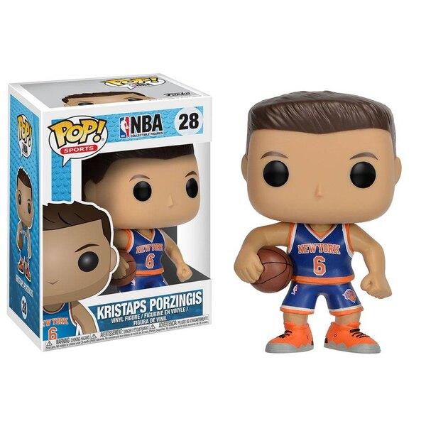 NBA POP! Sports Vinyl Figur Kristaps Porzingis (New York Knicks) 9 cm