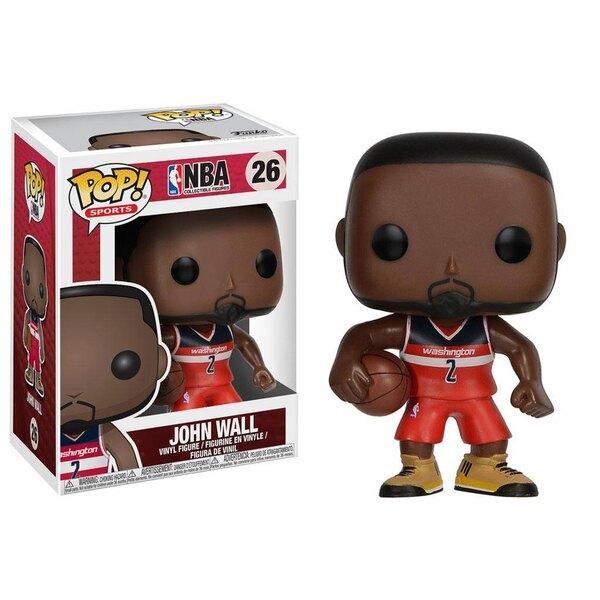 NBA POP! Sports Vinyl Figur John Wall (Washington Wizards) 9 cm