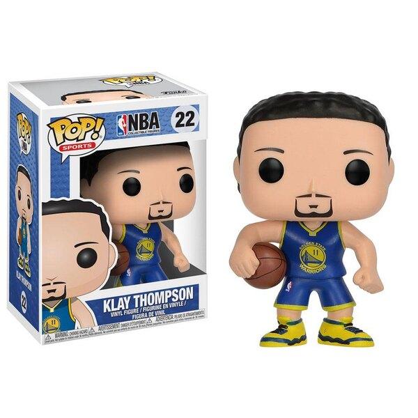 NBA POP! Sports Vinyl Figur Klay Thompson (Golden State Warriors) 9 cm
