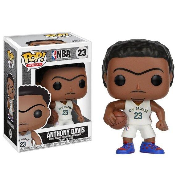 NBA POP! Sports Vinyl Figur Anthony Davis (New Orleans Pelicans) 9 cm