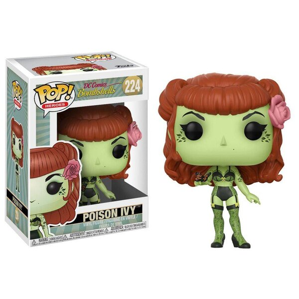 DC Comics Bombshells POP! Heroes Vinyl Figur Poison Ivy 9 cm