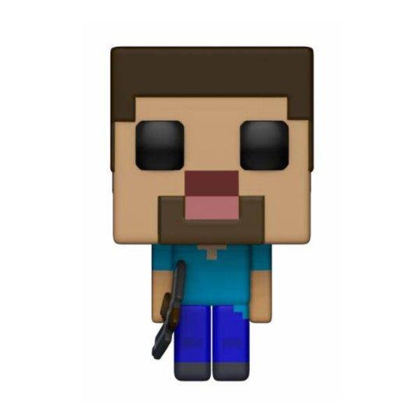 Minecraft POP! Games Vinyl Figur Steve 9 cm