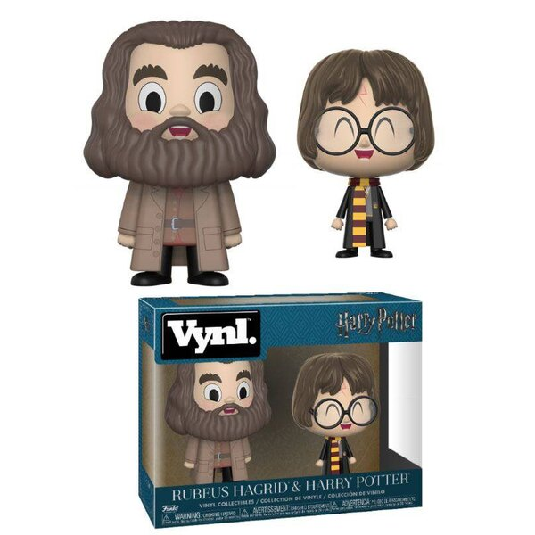 Harry Potter VYNL Vinyl Figuren Doppelpack Hagrid & Harry 10 cm