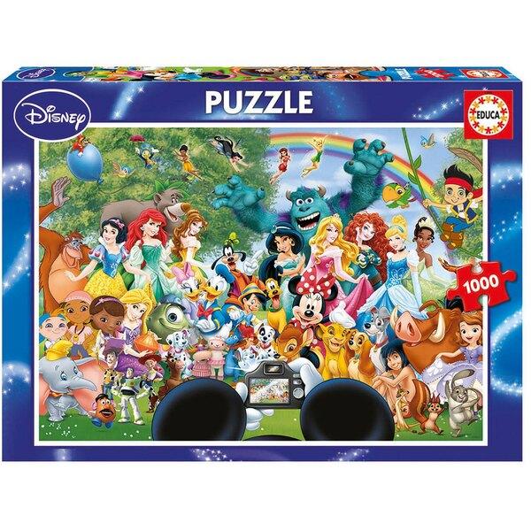 Puzzle Der wunderliche Disney-Welt