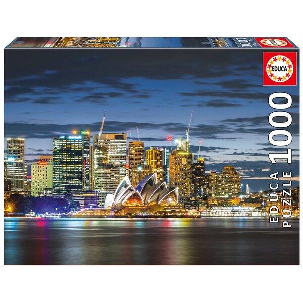Puzzle Sydney am Dämmerung