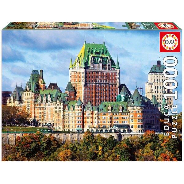 Puzzle Schloss von Frontenac, Kanada