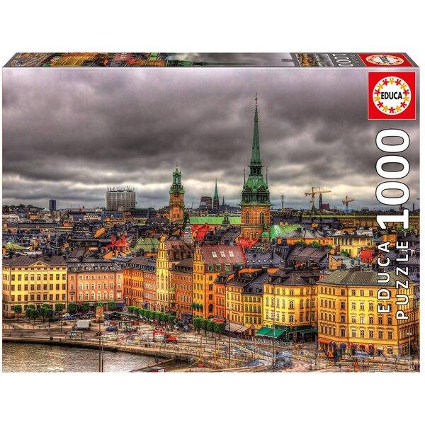 Puzzle Sehen von Stockholm, Schweden