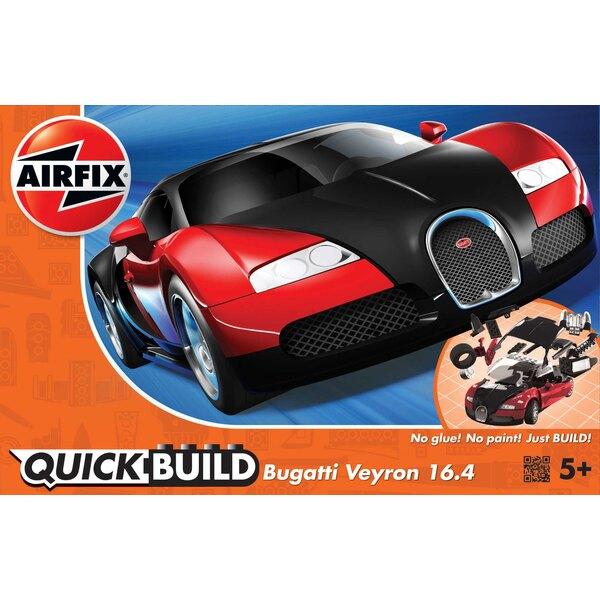 QUICKBUILD Bugatti Veyron - Noir & Rouge