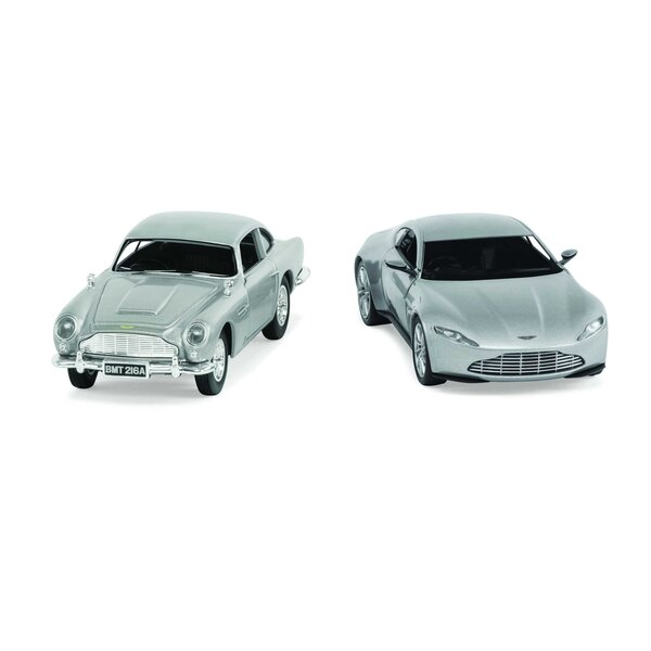 JAMES BOND ASTON MARTIN TWIN PACK