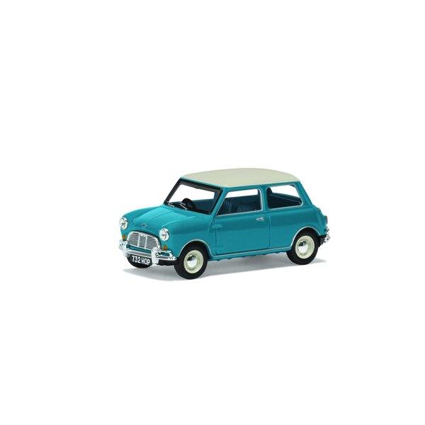 Austin Mini Cooper Mk1, Surf Blau-Corgi 60. Modell