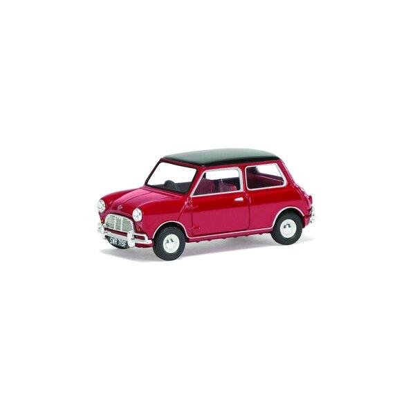 Mini Cooper S, Tartan Rot & Schwarz