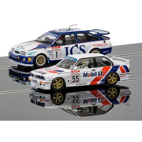 Zwei Autos Tourenwagen Legenden Pack - Ford Sierra RS500 und BMW E30 - Limited Edition