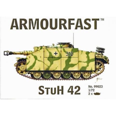 Stuh 42: Satz schließt 2 Schnappen zusammen Panzer-Bausätze ein
