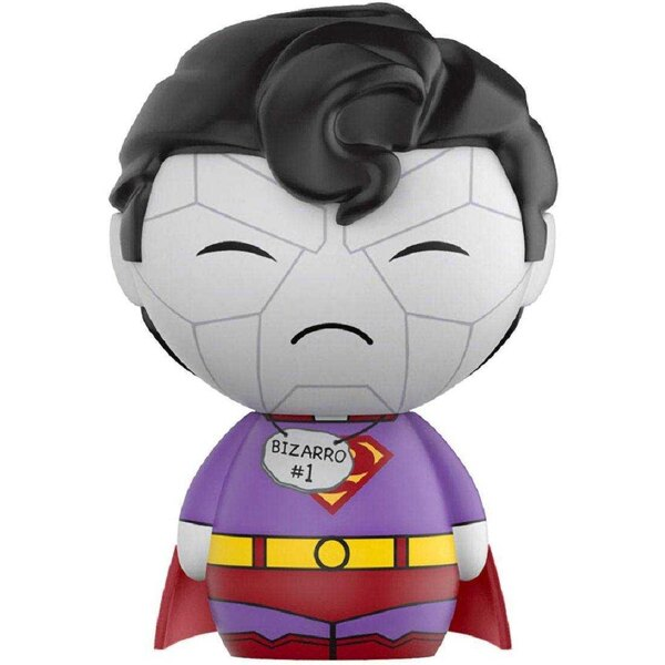 DC Comics Vinyl Sugar Dorbz Vinyl Figur Superman Bizzaro 8 cm