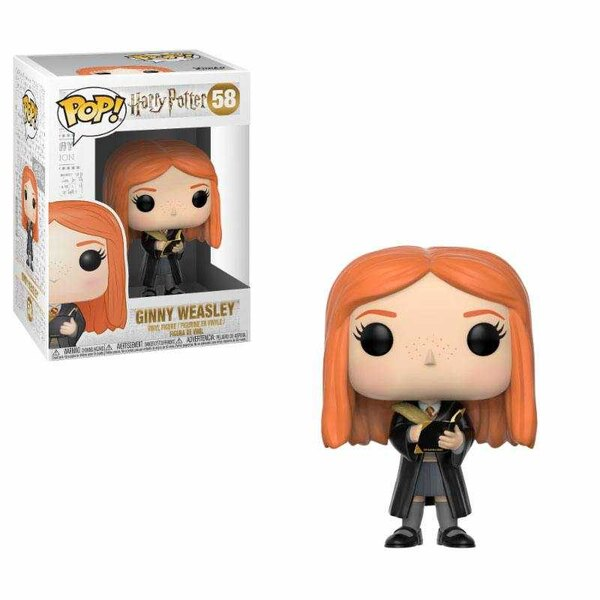 Harry Potter POP! Movies Vinyl Figur Ginny Weasley (Diary) 9 cm
