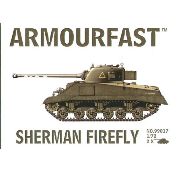 Sherman Firefly: Satz schließt 2 Schnappen zusammen Panzer-Bausätze ein