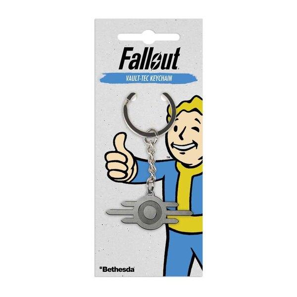 Fallout Metall Schlüsselanhänger Vault-Tec