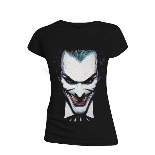 Batman Girlie T-Shirt Alex Ross Joker